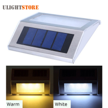 Outdoor LED Solar Power Energy Light Sun power Waterproof Home Garden Yard Path Street Stair Fence Landscape Security Wall Lamp