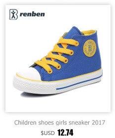 Enfants chaussures pour fille enfants toile chaussures garçons 6