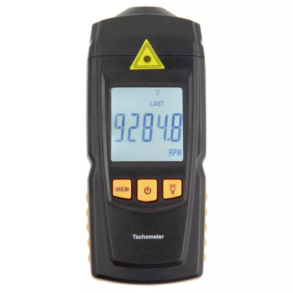 1pcs Worldiwde Digital Rotation Speed Digital Tachometer Measuring Tester/xj<br>
