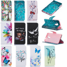 "High Quality PU Leather Flip Cover For Huawei Honor 5C/Huawei GT3/Honor 7 Lite 5.2"" Patterned Cartoon Cute Case With Magnet BFT1(China)"