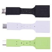USB 3.1 Type-C USB USB 3.0 OTG Female Data Converter Adapter Cable Fast Speed Data Sync Transfer Cord White Black Green