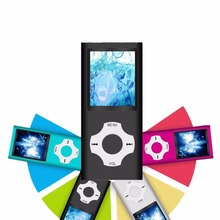 High Quality 1.8 inch support 32GB mp3 player Music playing 4th gen with fm radio video player E-book mp3 music players 9 color(China)