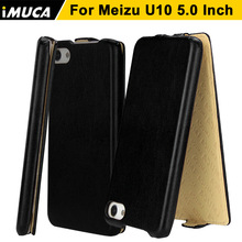 Meizu U10 Case Cover iMUCA phone Cases flip leather cover capa u10 u 10 5inch luxury case mobile bag - Communication Co.,ltd store