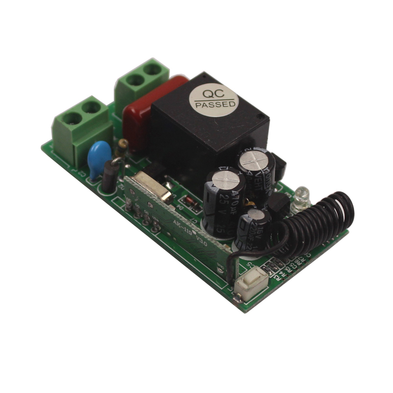 433Mhz Universal Wireless Remote Control Switch 220V Relay Receiver Module 315433 Mhz Remote Controls 110V Switch-5