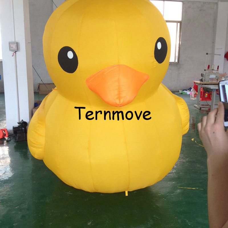 Giant Inflatable Yellow Air Duck7