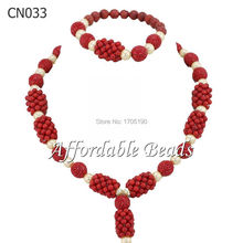 Nice African Costume Jewelry Set Pretty Bridal Jewelry Sets Free Shipping CN033(China)