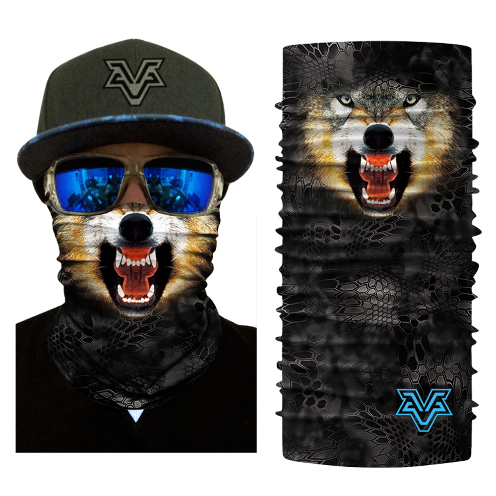 Men Women Sports Motorcycle Face Masks Bicycle Balaclava Scarf Head Wear Outdoor Monkey Tiger Dog Animal Face Mask (3)