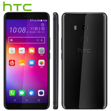Original HTC U11 Plus Mobile Phone 6GB 128GB Snapdragon 835 Octa Core 6.0inch 1440x2880px Android 8.0 IP68 Waterproof Dustproof(China)