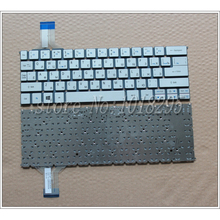 Russian Keyboard Acer Aspire P3-131 P3-171 P3-171-6408 P3-171-6820 MP-12Q33SU-6200 RU Silver Without Frame - Top-Almighty Laptop store