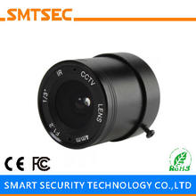 "SMTSEC SL-4012F 4.0mm F1.2 1/3"" CS Mount 78 Degrees Fixed Iris Lens for CCTV Surveillance IP Camera"