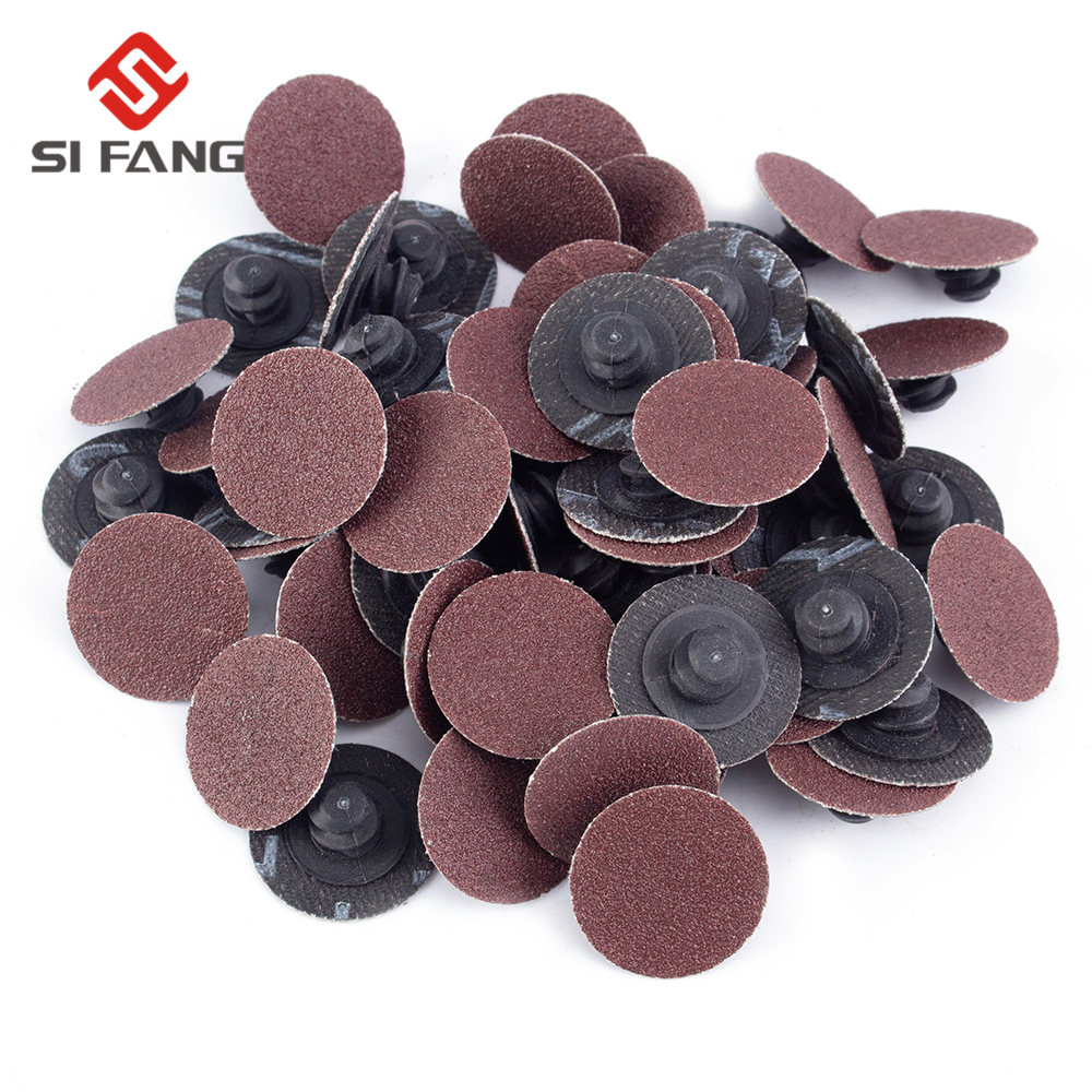 2 inch Oxide Discs Sanding Grinding Disc For Air Grinder Rotary Tool 35pcs//Set