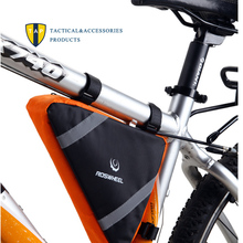Buy Roswheel Mountain Road MTB Front Bike Triangle Bag Pannier Tube Bags Tool Bicycle Accessories Basket Cycling Top Frame bolsa for $15.80 in AliExpress store