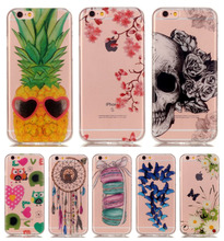 DEEVOLPO TPU Slim Case For Apple iphone 8 8+ 7 7+ 5 5S SE 6 6S Plus Back Cover For ipod touch 6 Phone Silicone Cover DP67
