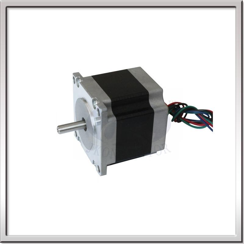 Free shipping 1.8 deg NEMA23 high precision 57mm 2 phase square hybrid big stepper motor 57HS56-2006 3.6V 2A 6-wire 0.9N.m 56mm<br>