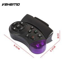 Vehemo Steering Wheel Remote-Control Remote Control Remote-Control Unit ABS 11 Button Smart DVD Car MP3 Player Automobile