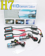 High quality AC 55w hid xenon kit H7 3000K 4300K 6000K 8000K 10000K hid kit xenon Headlight  free shipping