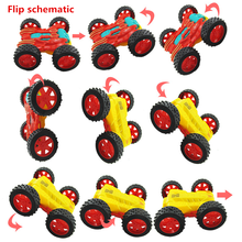 WEYA New Cool Flip sides of inertia toy mini cars for Child hot wheels Mini Car Model Kids oyuncak for Boys coches Juguetes(China)