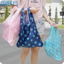 Coneed organizer Cartoon Duck Storage Bag reusable foldable folding shopping bag Thicker Oversized Quality First