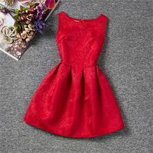 Summer Girls Princess Dresses Baby Kids Children's Clothing Girl School Dress Teenagers Girls Party Wear Dress For 6 To 12 Years(China)