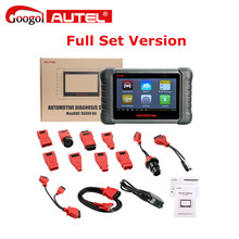 Latest AUTEL MaxiDAS DS808 KIT Tablet Diagnostic Tool Full Set Support Injector & Key Coding Better Than Autel Maxidas DS708