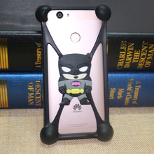 Smmnas 3D Cartoon Bunny Back Cover Case For DEXP Ixion E245 Evo 2 E340 Strike ES355 Ice ES550 Soul 3 Pro MS550 Silicon case