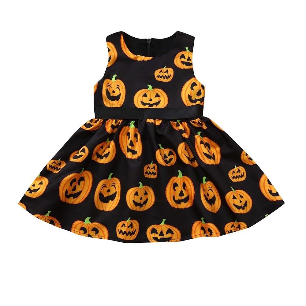 Emmababy Kleinkind Kinder Baby Mädchen Batman Cartoon Kleid Ärmelloses Kleid Kleidung