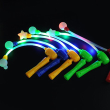 Cheering Electronic Flash Light Led Music glow Stick Wand Emiting Lights Stick for Party Wedding Prom Halloween Christmas(China)