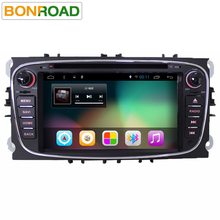 "7""Android 6.01 Quad Core 1024*600 Double 2din Car Radio For Ford Focus Galaxy Transit Connect 2010 Stereo Headunit GPS Navi(China)"