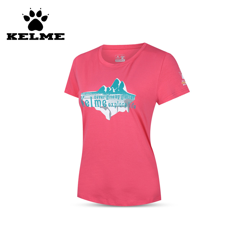 KELME New Sports Women Run T-shirt O-Neck Gym Training Fitness Causal Clothing Women Breathable Cotton Short Camisetas 06<br><br>Aliexpress