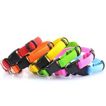 New Led Light Up Pet Dog Collar Flashing Night Safety Glow In The Dark Wholesales high quality