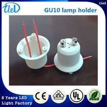 High quality fire-proof PBT lamp bulb holder GU10,CE & RoHS & UL,200 pcs /lot ,fast shipping ,GU10 lamp base,lamp cap GU10