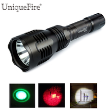 Uniquefire HS-802 XPE Tactical LED Falshlight 3 Modes Rechargeable Lantern Power By 18650 Battery For Bicycle, Camp, Energency(China)