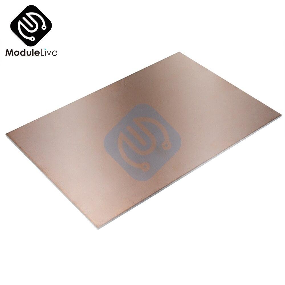 10 un 7x10CM placa de circuito de un lado revestido de cobre laminado de placa placa de circuito impreso Fibra De Vidrio