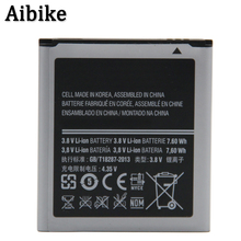Aibike New original mobile phone battery EB585157LU For Samsung i8552 i8558 i8550 i869 i8530 GT-I8552 I8530 Battery Replacement