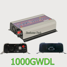 1000W wind turbine grid tie inverter with dump load, DC 22-60V/45-90V,MPPT pure sine wave on grid inverter for DC wind turbine