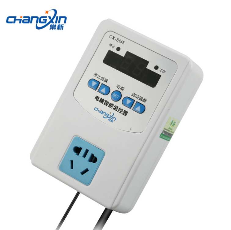 Electronic computer intelligent thermostat temperature control switch CX-SM5 Three high-precision magnetic head 1500W<br><br>Aliexpress