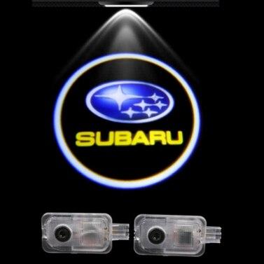 Dedicated hd welcome car lights LED door light door according to 3 d projection lamp custom designs for Subaru<br><br>Aliexpress