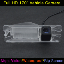 For Nissan March Renault Logan Sandero Car HD 520TV Night Vision Waterproof Backup Parking Reversing Rearview Rear View Camera(China)