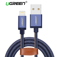 Ugreen MFi Lightning Cable For iPhone 6 6s 7 Denim USB Cable Fast Charger Data Cable for Apple iPhone 5 5s iPad Air Mini Cable(China)