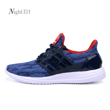 Night Elf men running shoes men high quality sneakers breathble mesh lifestyle gym trainers summer sport shoes men air 2017 new