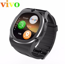 2017 WIFI GPS Smart watch Q98 kw88 android 5.1 MTK6580 4GB+512M Quad core sport tracker sign in facebook wrist watch cell phone(China)