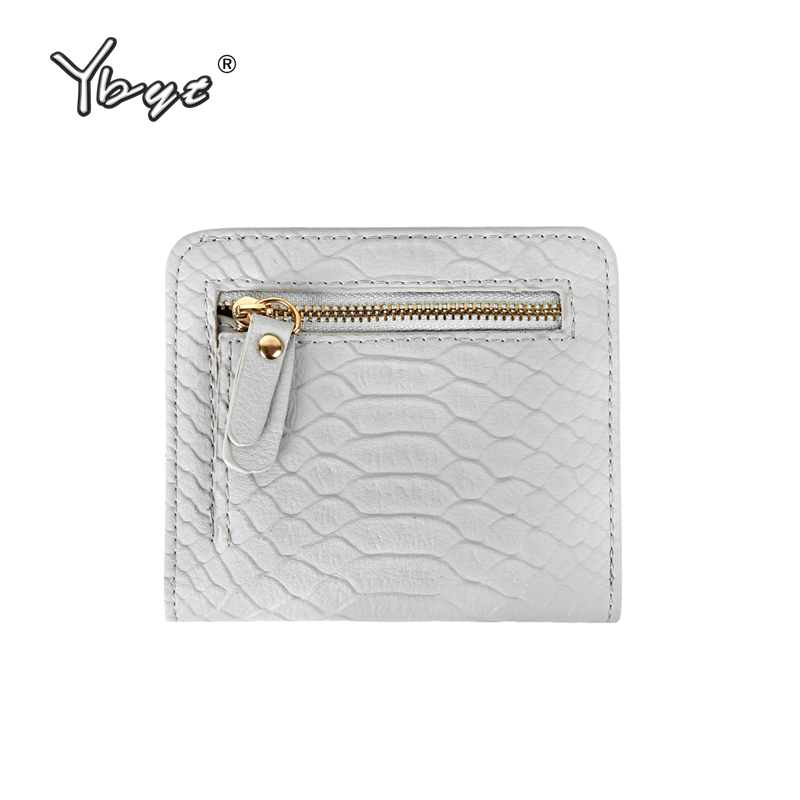 d411483de5ad Best YBYT brand 2016 new fashion simple serpentine zipper short purse  hotsale ladies PU leather coin purses card pack women walllet Reviews
