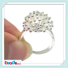 BeadsniceID26988 handmade jewelry 925 handmade silver rings of dandelion Ring for her