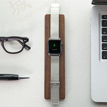 Simple design Real Wood for Apple watch stand wooden charging stand bracket docking station holder for 38&42mm 3 colors