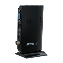Portable CRT LCD TV Box 1080P Analog TV Tuner Box / CRT monitor Digital Computer TV Program Receiver For DVD / PDP / PS2