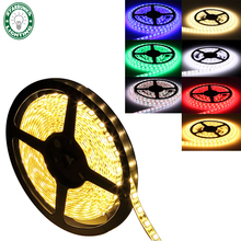 5050 RGB LED strip waterproof led color luz led rgb neon flex remote led strip light tape lamp warm white red blue green IC