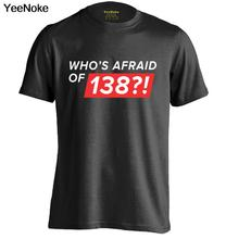 Who's Afraid of 138 Ping Pong Mens & Womens Personalized Retro T Shirt Cool Tee(China)