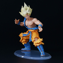 "DBZ ""Dragon Ball GT"" Super Saiyan 4 Son Goku PVC Action Figure Dragonball Styling Collection Model Dolls brinqudoes bebe"