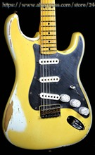 10S Custom Shop 1960 Nile Rodgers Tritube Hitmaker Limited Edition Electric Guitar White with Midas Gold on Top(China)