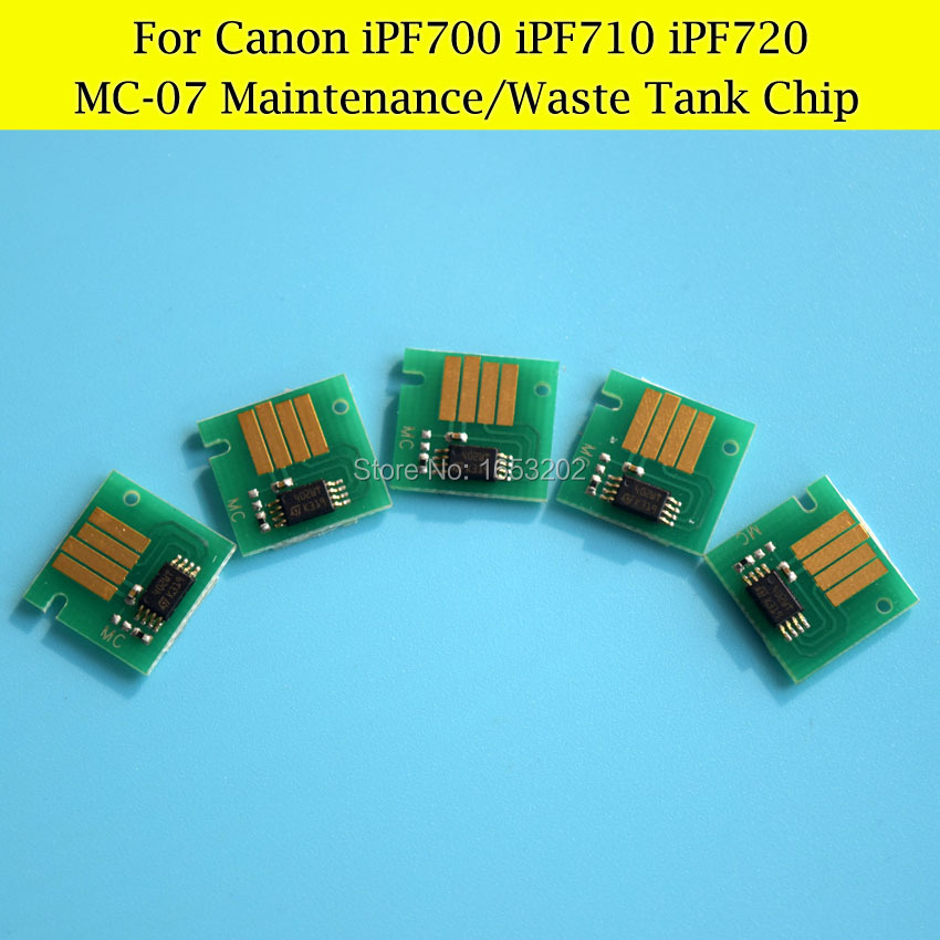 MC-07 Maintenance Tank Chips For Canon iPF710 iPF720 iPF700 Waste Ink Tank Chips<br><br>Aliexpress